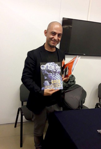 ‏‎Giovanni Cordoni, Presenting the GOLD LIST Special Edition of The International Art Market Magazine at Florence Biennale 2017