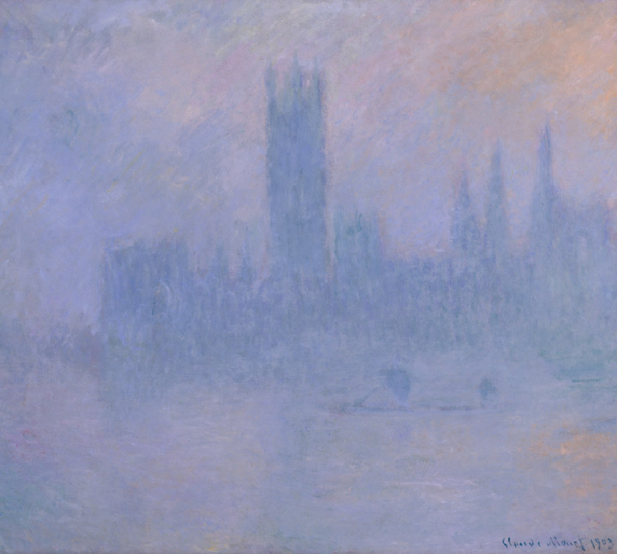 Houses of Parliament in the Fog, 1903 by Claude Monet Pushkin Museum
