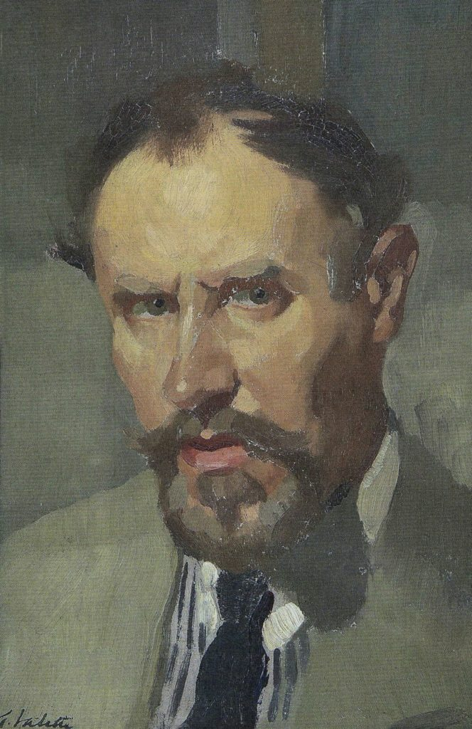 Adolphe Valette Self-Portrait
