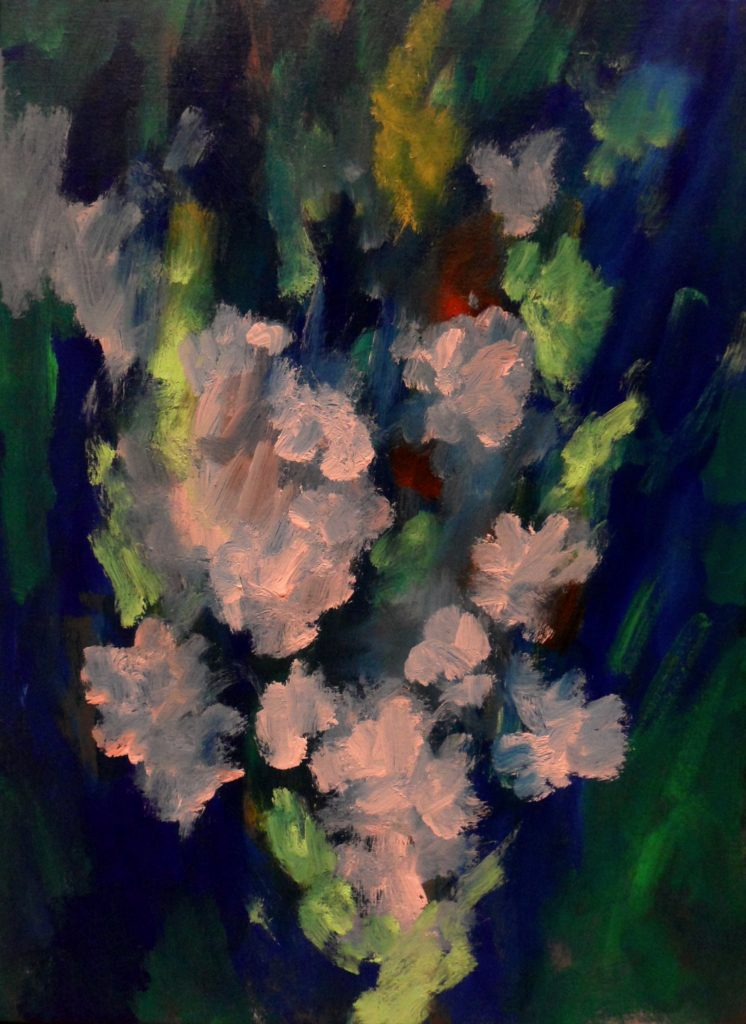 The-Bouquet-©-Tim-HALE-Acrylic-on-Canvas-55x75cm-2015