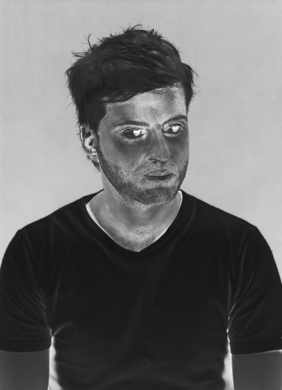 Eli Petel .negative-portrait 2002. Negative print
