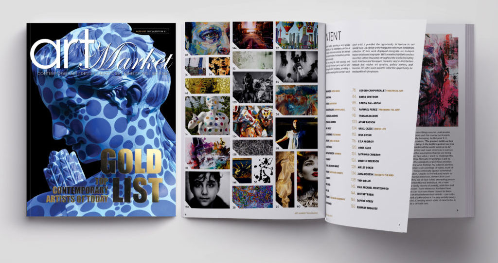 The GOLD LIST Special Edition #1 . Featuring Top Contemporary Artists & Photographers of Today.