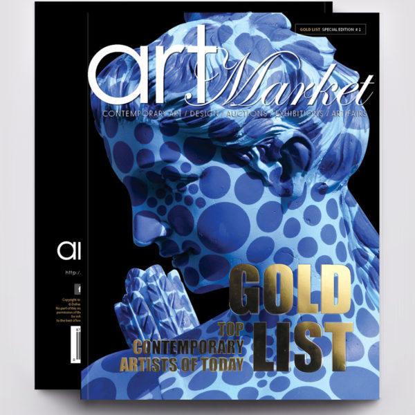Art Market Magazine Gold List Special Edition Cover Front and Back