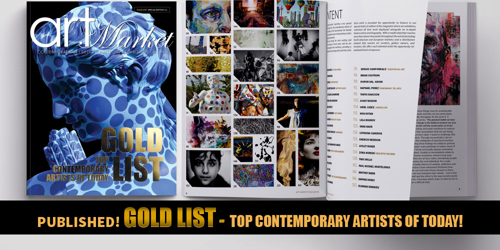 GOLD LIST Top Contemporary Artists of Today Order Digital Edition-PUBLISHED