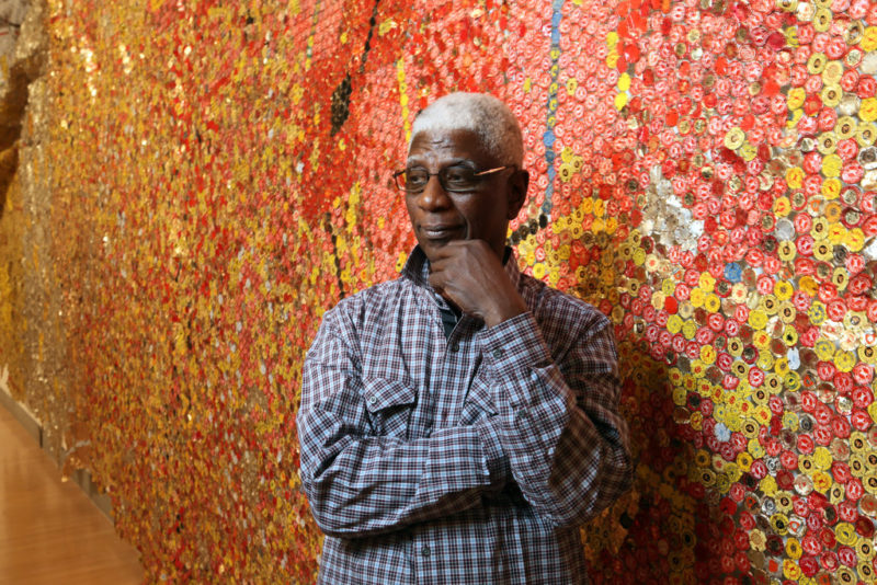 El Anatsui© Chester Higgins Jr. The New York Times