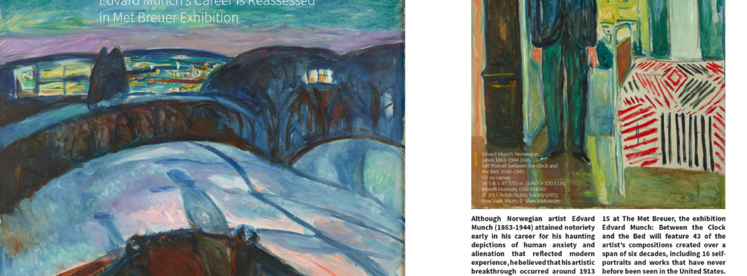 EDVARD MUNCH at the MET Exhibition Coverage