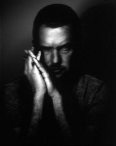 Pinhole Portrait of Michel Copyrights To Nicole Small © All Rights Reserved