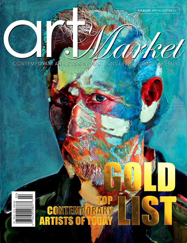 Art Magazine Cover GOLD LIST By Market